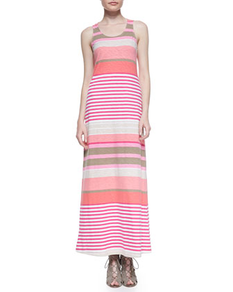 Buff Bay Striped Maxi Dress