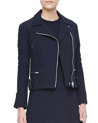 Joan Cotton Biker Jacket