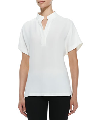 Reyn Short-Sleeve Blouse