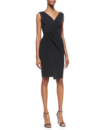 Vitra Faux-Wrap Dress