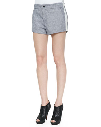 Nesi Side-Stripe Shorts
