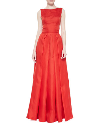 Oralia Taffeta Silk Ball Gown