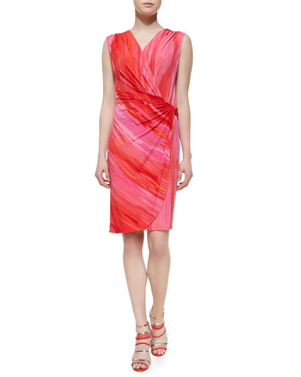 Taal Lake Dress Jersey Dress, Chili