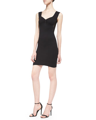 Bella Coachella Slip Dress, Black