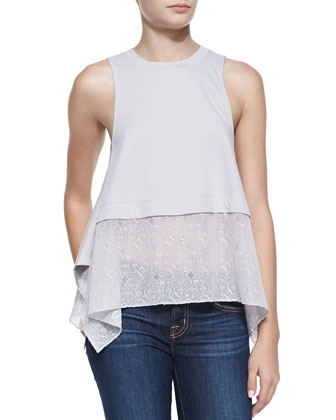 Cole Lace Bottom Tank