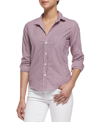 Barry Tricolor Check Shirt