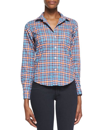 Barry Plaid Button-Down Shirt