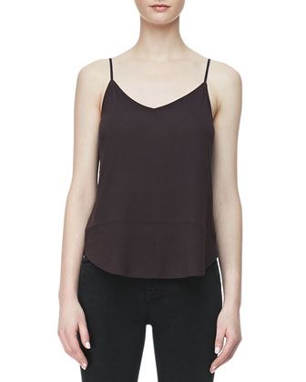 Nadja Thin-Strap Tank Top, Kona