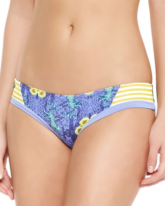 Sunny Sunlits Bandeau Swim Top & Reversible Swim Bottoms