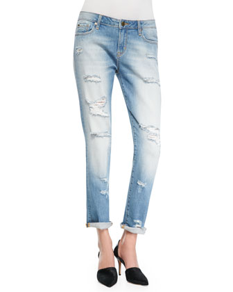 Paris Boyfriend Jeans, Queens Destroy