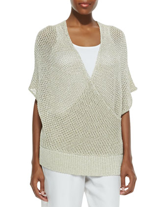 Metallic Surplus Knit Top