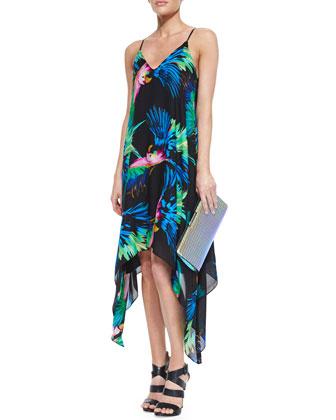 Paradise Print Strappy Dress