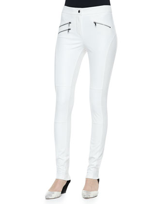 Stephen Zip-Pocket Detail Leggings