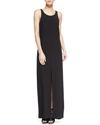 Joyner Combo Slit Maxi Dress