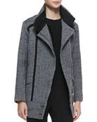 Bailey Herringbone Coat