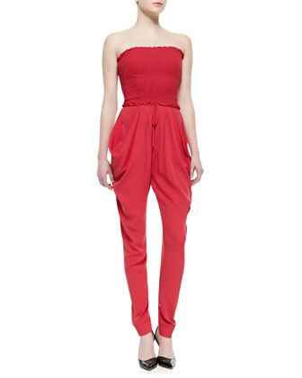 Finesse Strapless Jumpsuit
