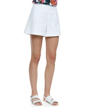 Carefree Perforated Twill Blazer, Hotsy Totsy Floral-Print Halter Tank & ...