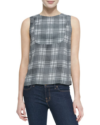 Sleeveless Bianca Blouse
