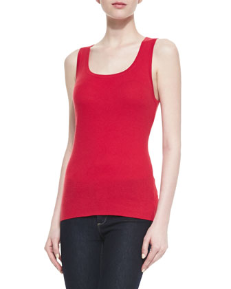 Featherweight Cashmere Tank Top