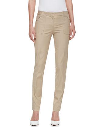 Broadcloth Utility Pants, Hemp
