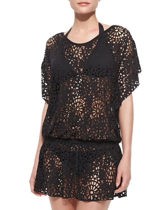 Tulleries Laser Cutout Cover-Up