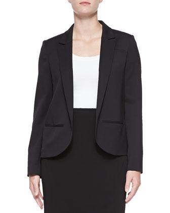 Gabardine Tuxedo Jacket