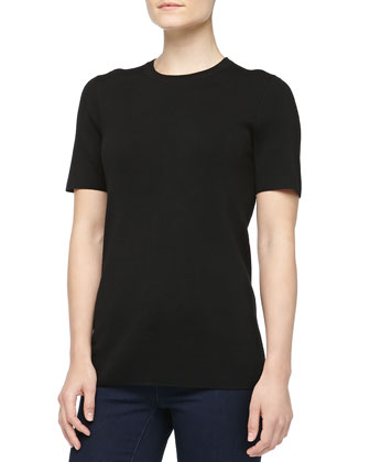 Super Cashmere Tee, Black