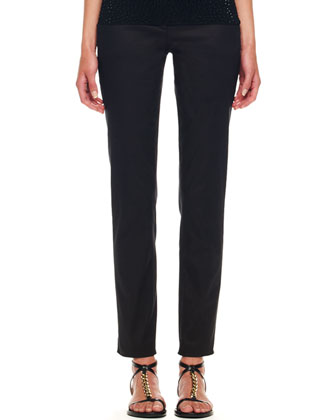 Samantha Slim Pants, Black