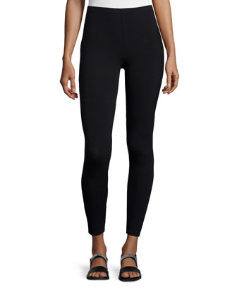 Merino Jersey Long Tunic & Viscose Jersey Leggings, Women's