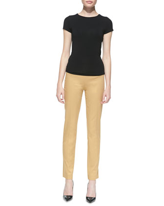 Stretch-Twill Pants, Sandstone