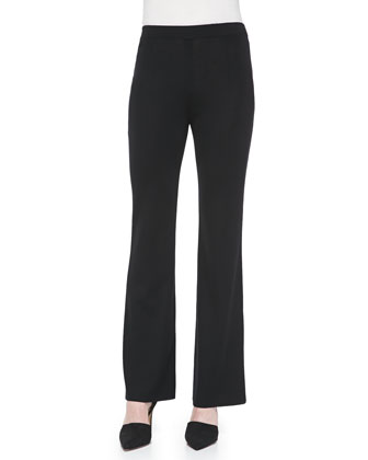Boot-Cut Knit Pants, Women's