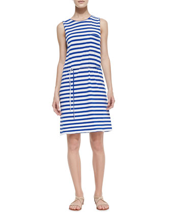 Paseo Striped Cotton Knit Dress