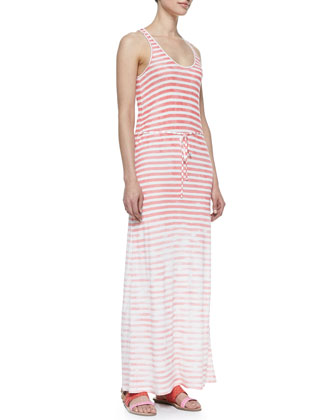Emilia Sleeveless Stripe Maxi Dress