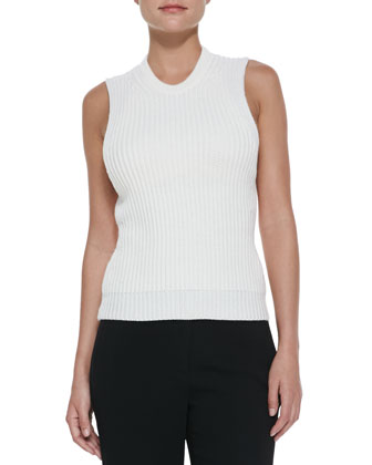 Halter Knit Sweater, Malt