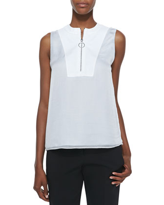 Layered Bib Top, Riviera