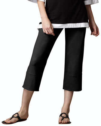Vented Capri Pants, Women's