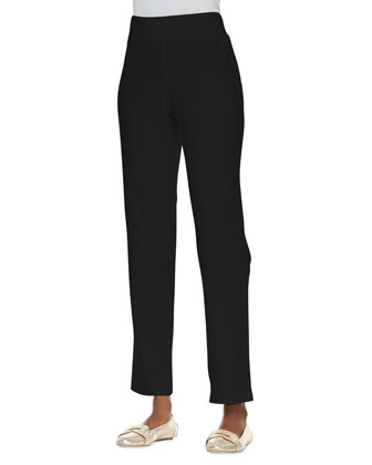 Jersey Skinny Pants, Black