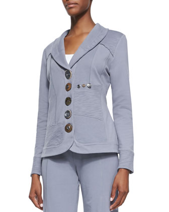 Zesty multi button jacket