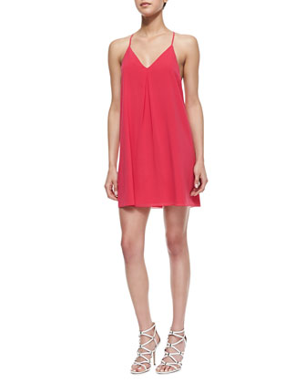 Fierra Tank Dress, Fuchsia