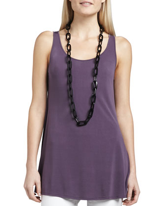 Sleeveless Jersey Tunic, Women's