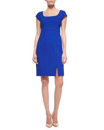 Chase Me Embossed Dress