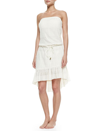 Jersey High-Low Cover-Up Dress