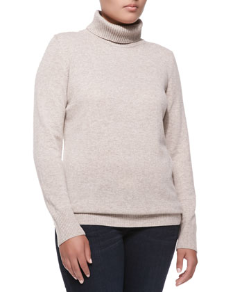 Cashmere Long-Sleeve Turtleneck