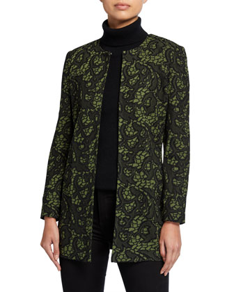 Tapestry Long Jacket