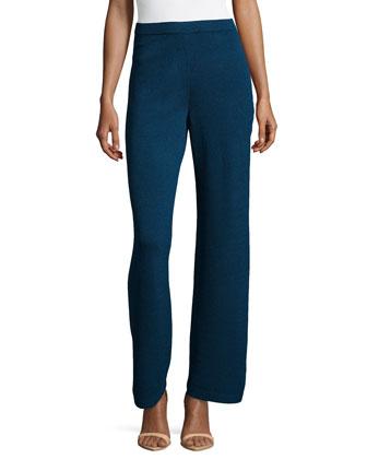 Santana Knit Basic Pants, Sapphire