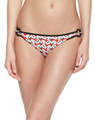 Calyx Floral-Print Ring-Side Bottom