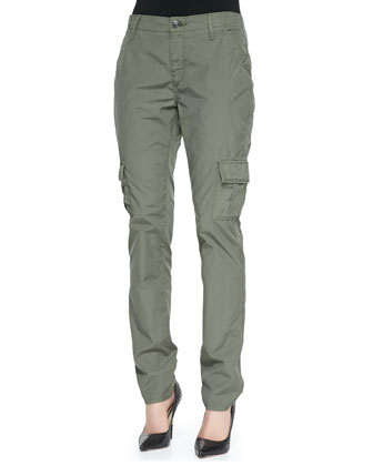 Celina Mid-Rise Relaxed Cargo Pants