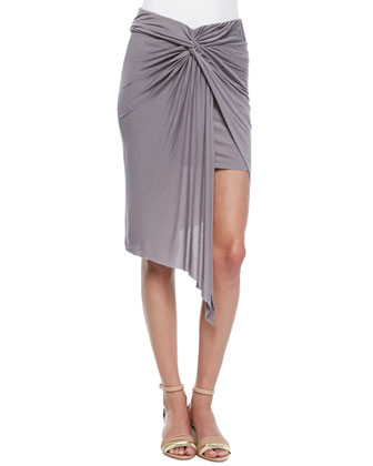 Kulani Ombre Jersey Draped Skirt