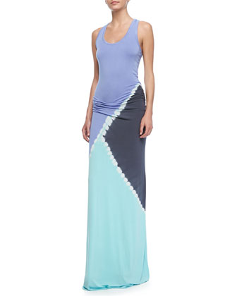 Hamptons Triangle Tank Maxi Dress