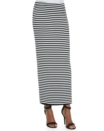 Stella Striped Maxi Skirt
